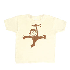 Kids Monkey Swinging T Shirt