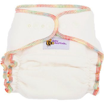 Baby Beehinds Bamboo Fitted One-Size-Fits-Most (OSFM) Cloth Nappy
