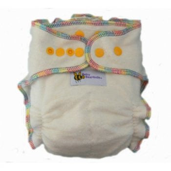 Baby Beehinds Hemp Fitted One-Size-Fits-Most (OSFM) Cloth Nappy