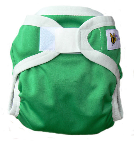 Baby Beehinds PUL Cloth Nappy Cover in Emerald (size: SMALL ~4-8kg)