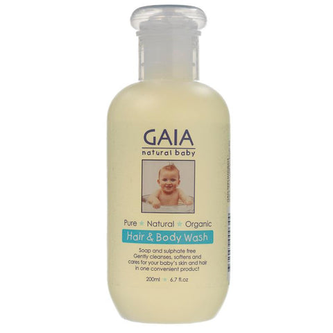 GAIA Baby Hair & Body Wash 250ml