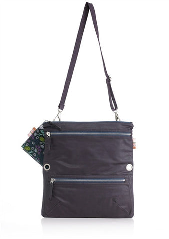 Isoki Multi Messenger Nappy Bag in Zahara