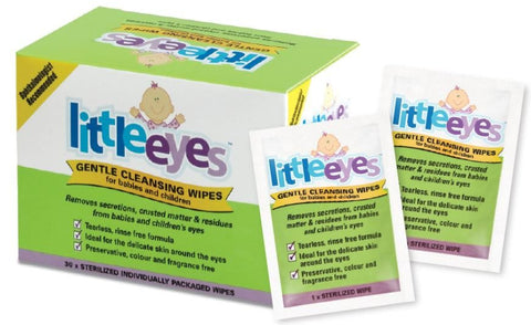 Little Eyes Gentle Cleansing Wipes