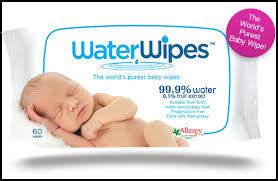 Water wipes Baby Wipes 60s