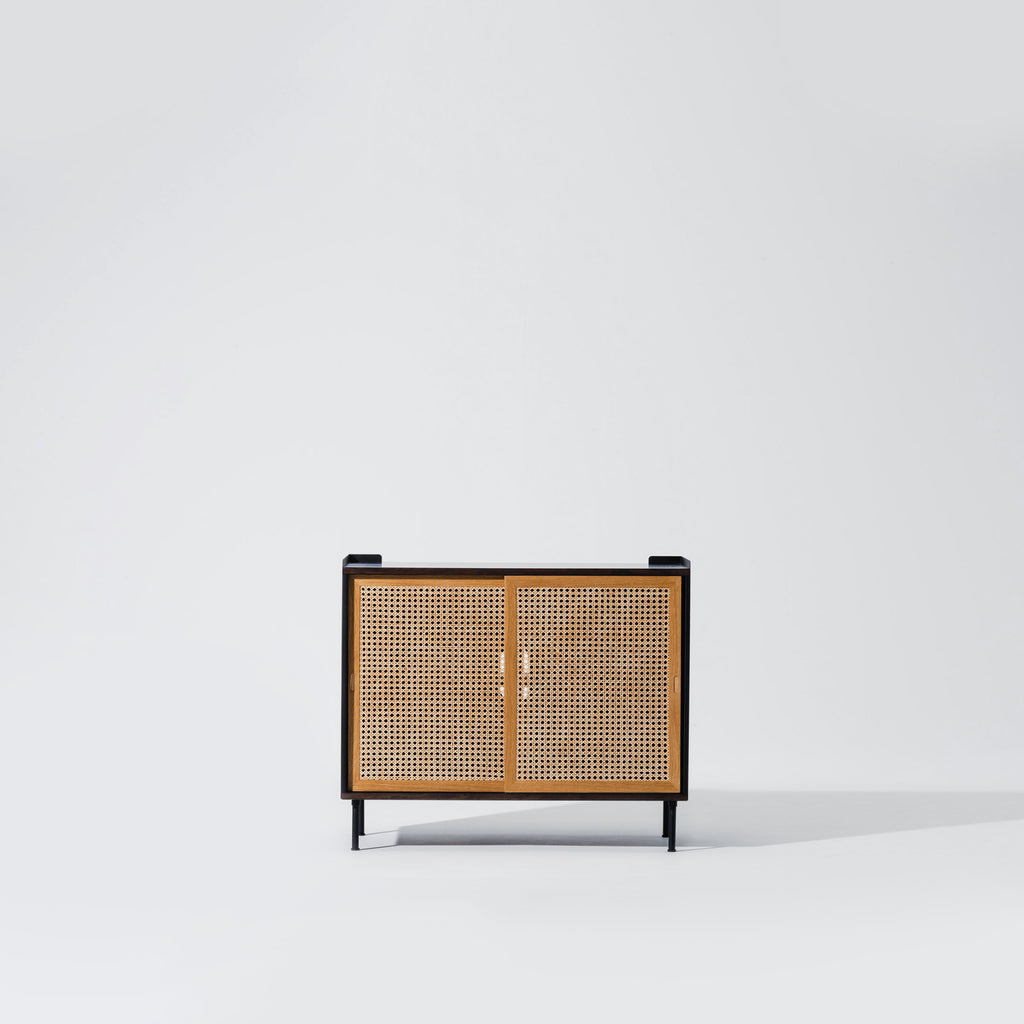 Wrap Wicker Console L