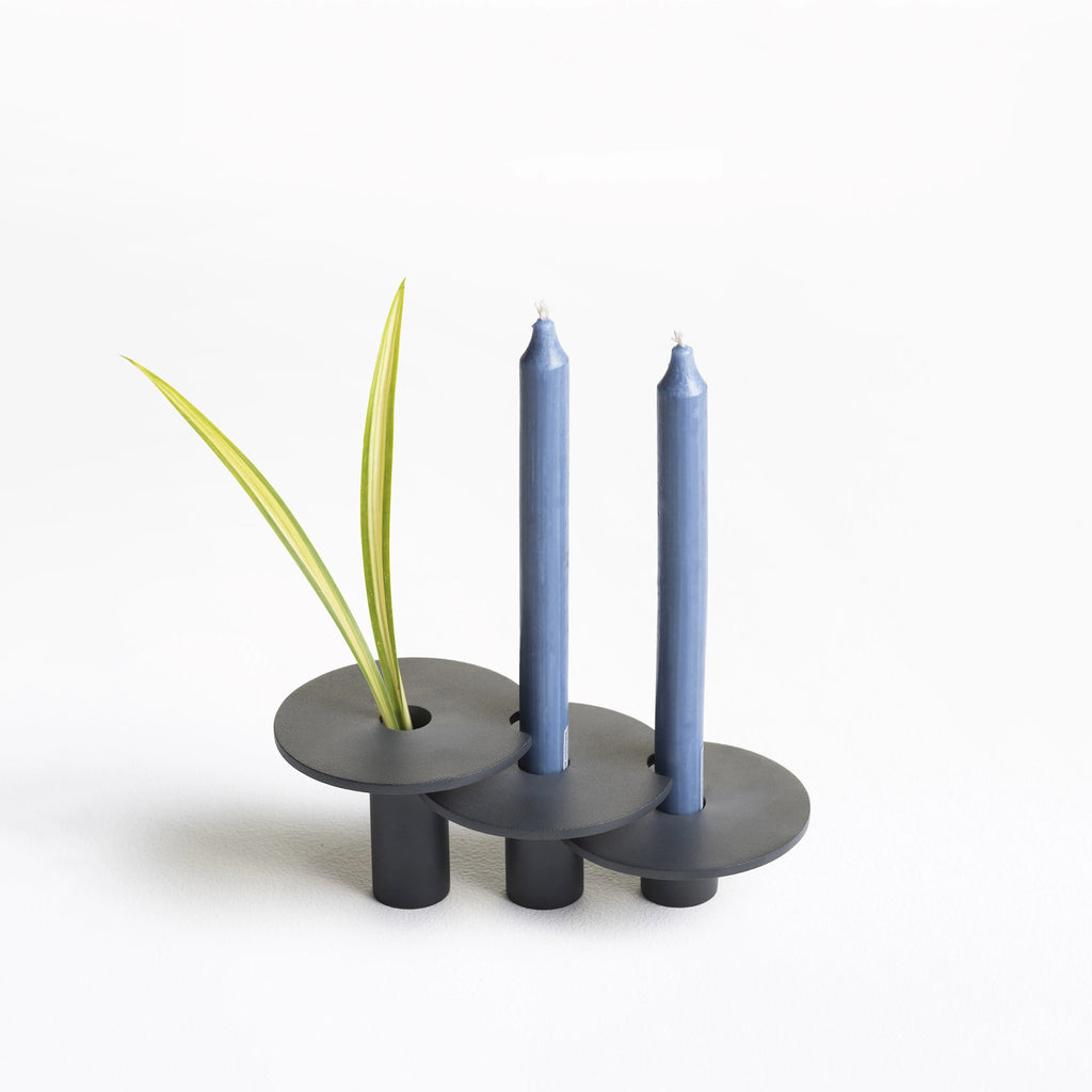 Tres Candle Holder