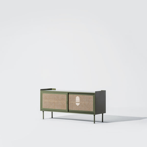 Wrap Wicker Console S