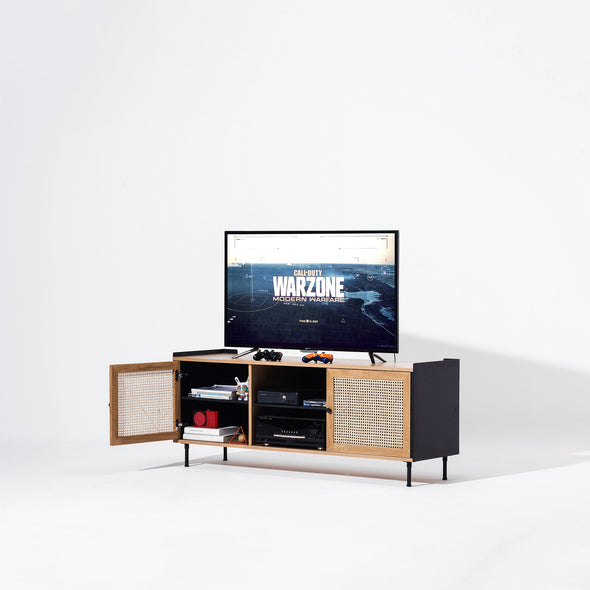 Wrap Wicker TV Console