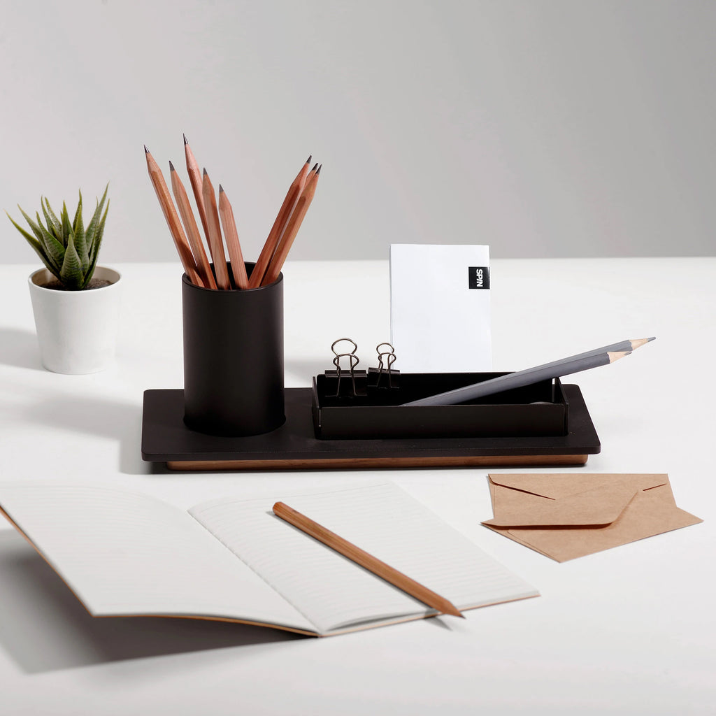 Three Desk Organiser