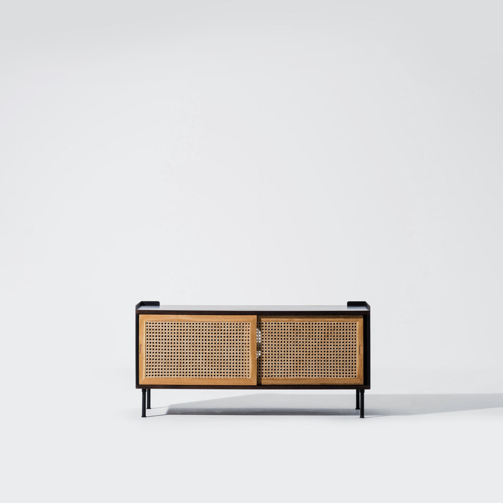 Wrap Wicker Console M