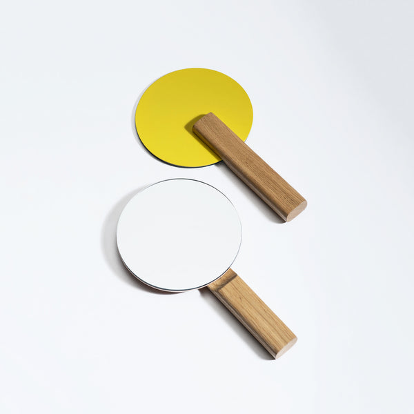 Paddle Vanity Mirror (Wood)