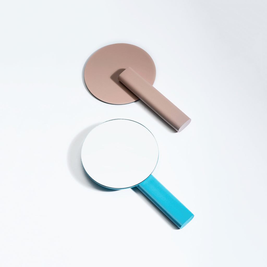Paddle Vanity Mirror (Metal)