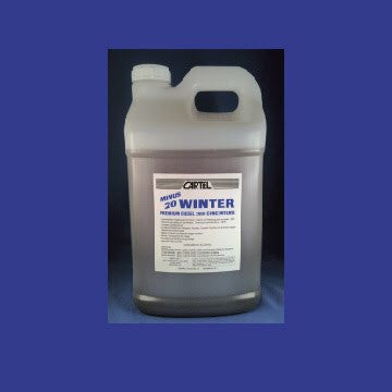 Winter Diesel Concentrate PREMIUM DIESEL 2000 - 35 ,  Gallon Treats 2000 - Full Treatment