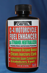 C-4 MOTORCYCLE FUEL ENHANCER QTY 12