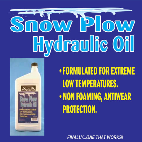SNOW PLOW HYDRAULIC OIL 32 OZ