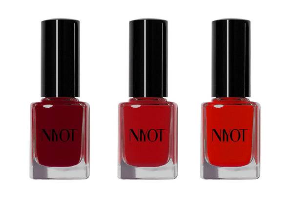 The Reds Nail Polish Trio Set