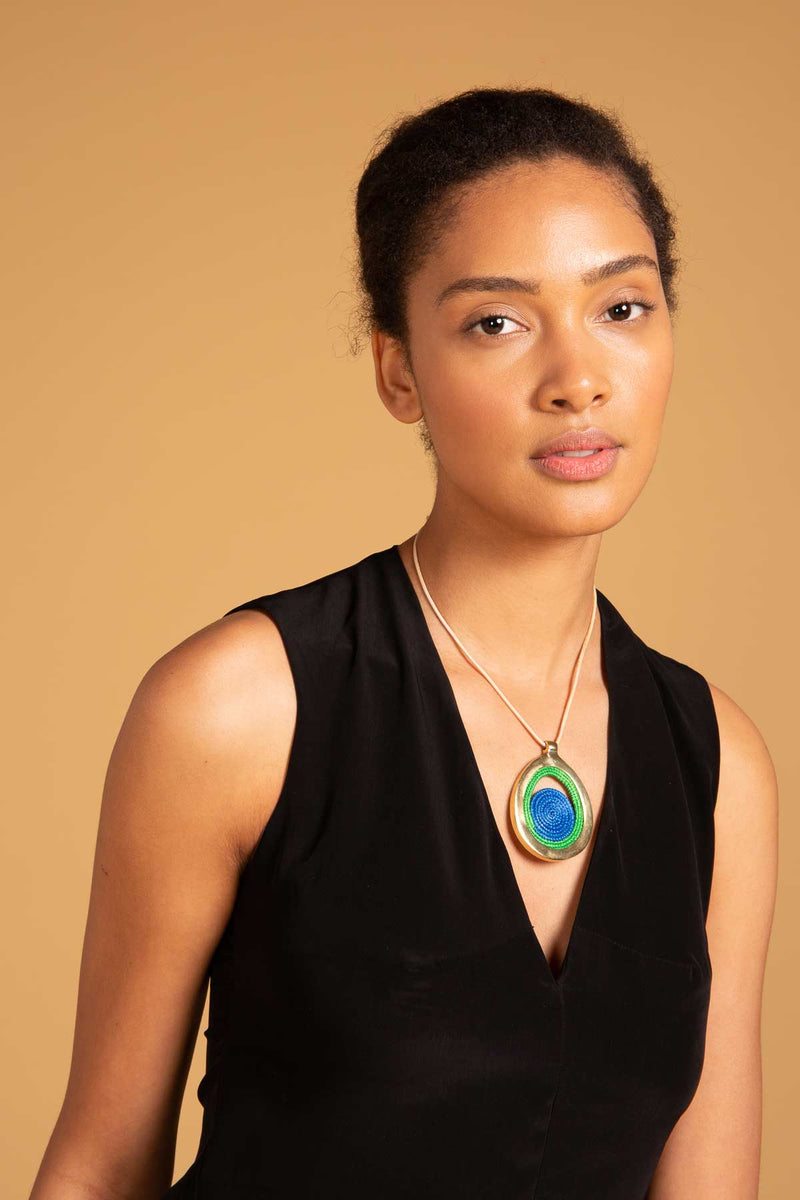 Bongani-necklace-greenblue