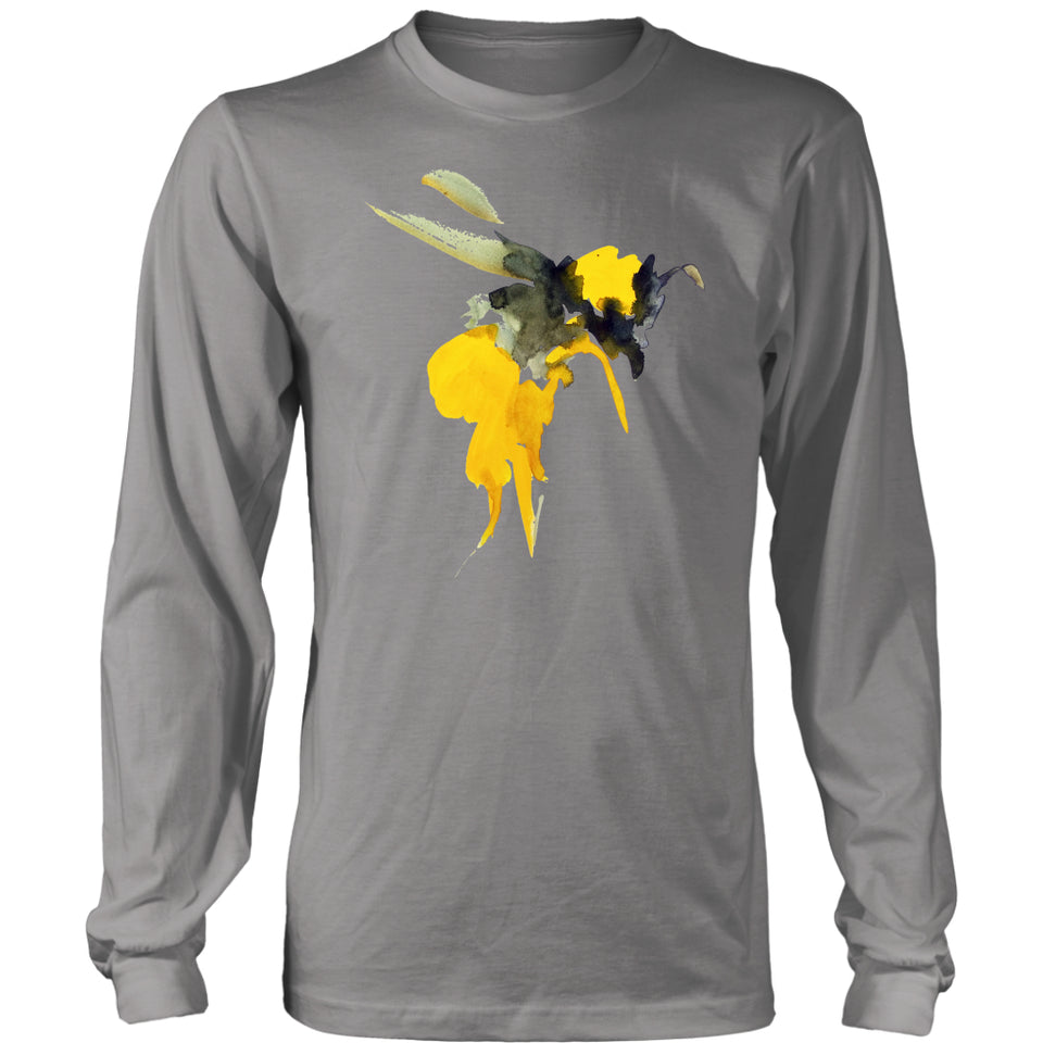 Painted Bee - Long Sleeve Tee
