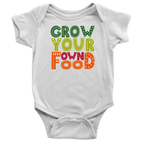 Grow Your Own Food - Baby Onesie