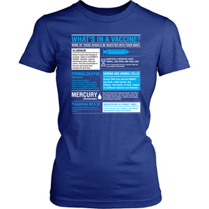 What's in a Vaccine - Women's Tee