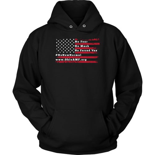 OAMF - American Flag No Fear Hoodie