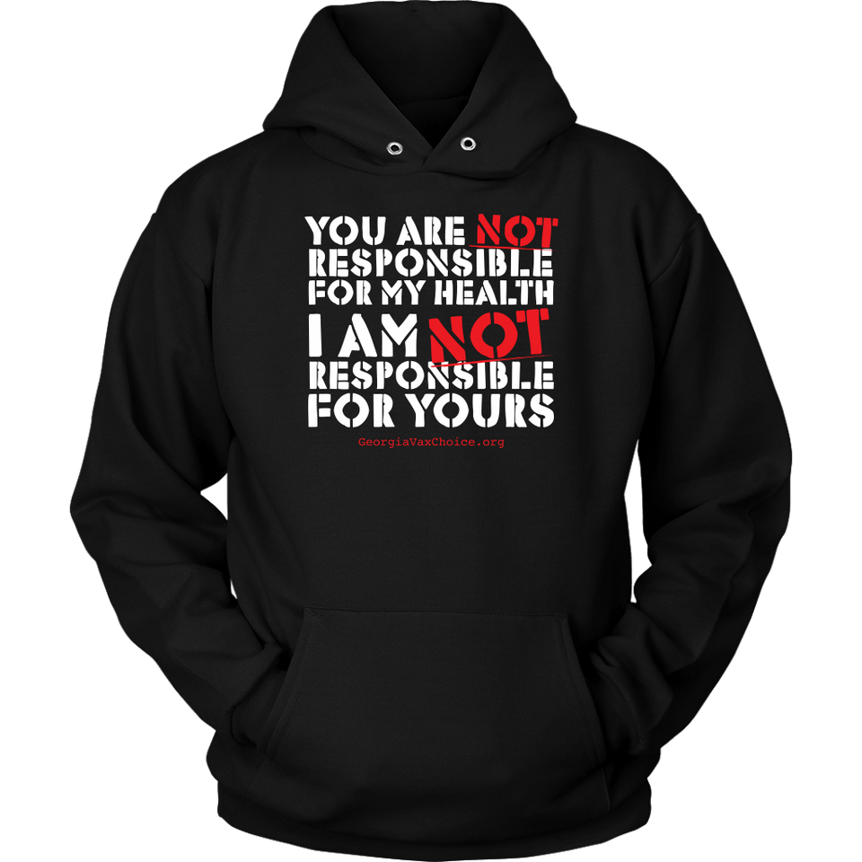 GCVC - You Are Not Responsible For My Health - Hoodie