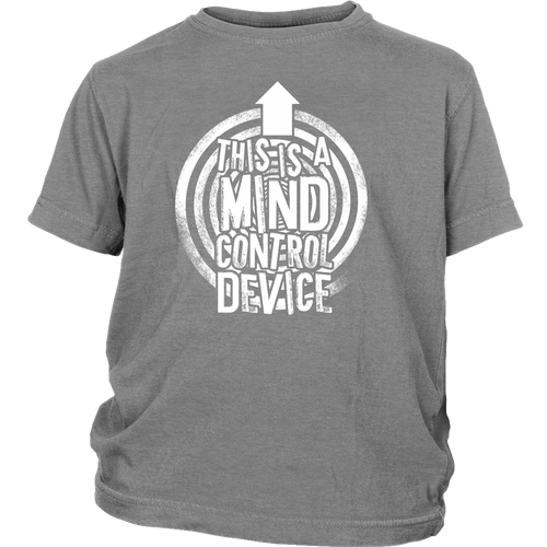 This is a Mind Control Device (arrow) - Youth Tee