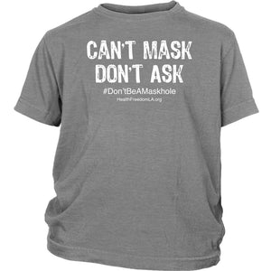 HFLA - Can't Mask Don't Ask - Youth Tee