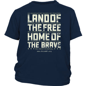 OAMF - Land of the Free Home of the Brave - Youth Tee