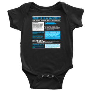 What's in a Vaccine - Onesie