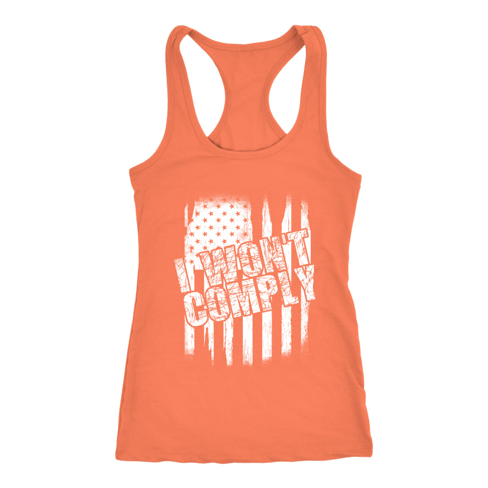 I Won't Comply - Tank Top