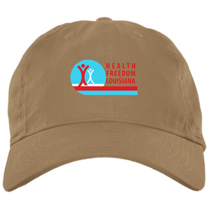 Health Freedom Louisiana - Brushed Twill Unstructured Cap