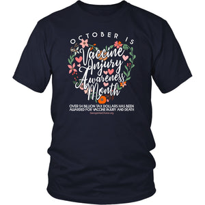 GCVC - October is Vaccine Injury Awareness Month - Unisex Tee