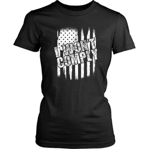 I Won't Comply - Women's Tee