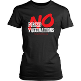 GCVC - No Forced Vaccinations - Women's Tee