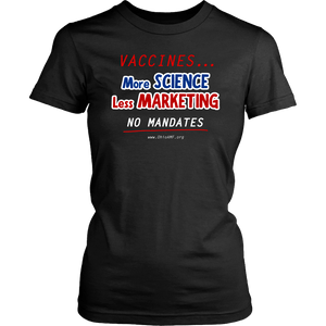 OAMF - More Science Less Marketing - Women's Tee