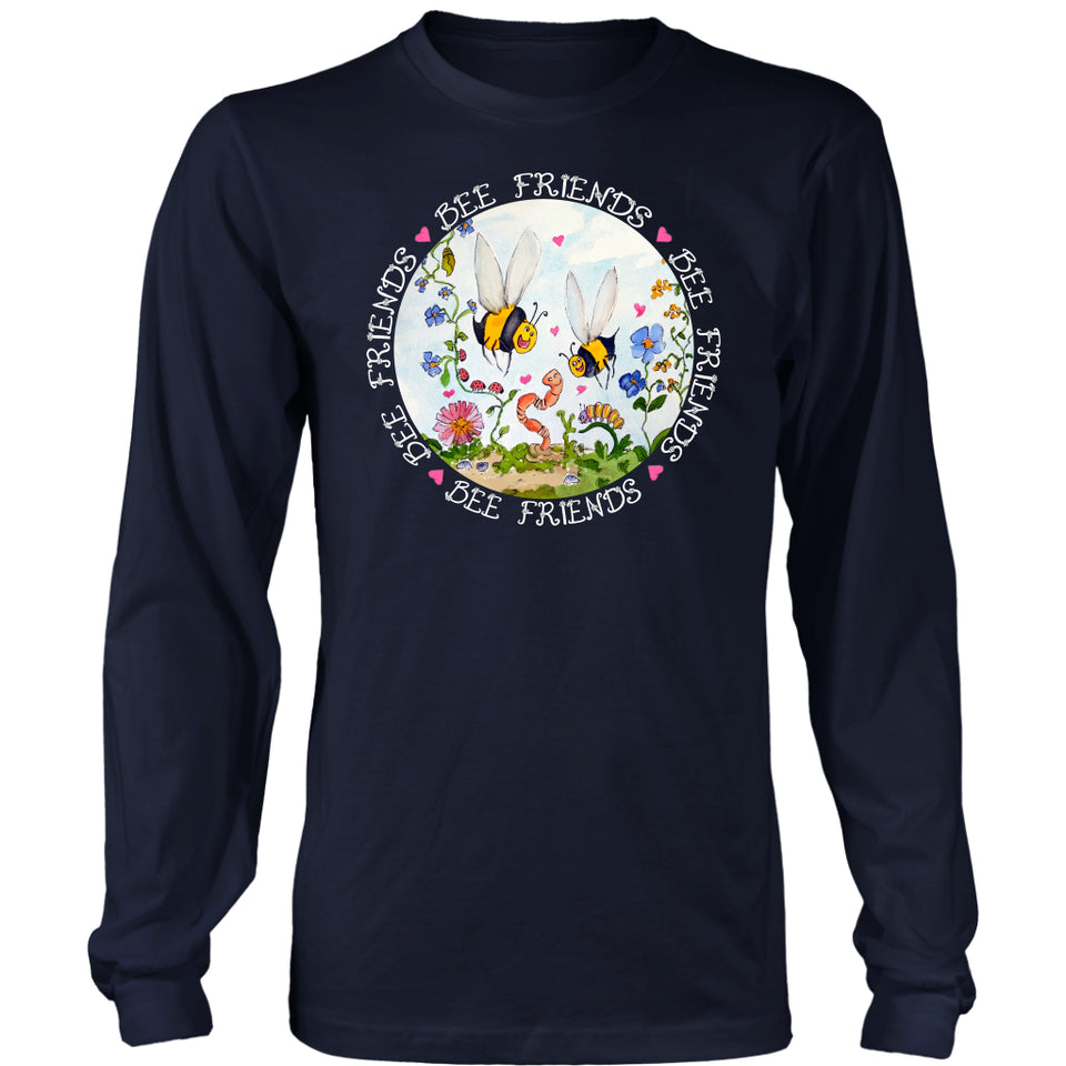 Bee Friends - Long Sleeve Tee