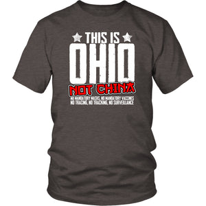 This is Ohio Not China - Unisex Tee