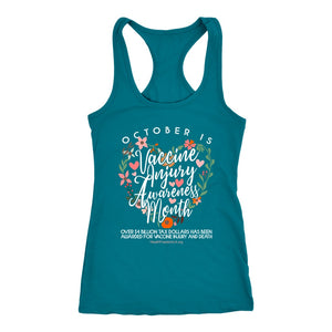 HFLA - October is Vaccine Injury Awareness Month - Tank Top
