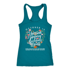 October is Vaccine Injury Awareness Month - Tank Top