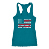 Medical Freedom Mom American Flag - Tank Top
