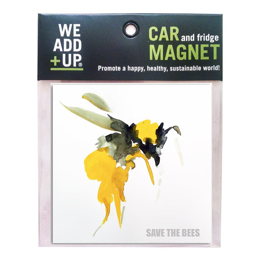 Save the Bees (Painting) Magnet