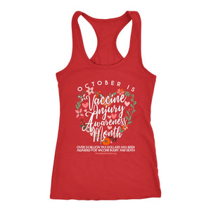GCVC - October is Vaccine Injury Awareness Month - Tank Top