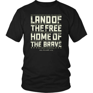 OAMF - Land of the Free Home of the Brave - Unisex Tee