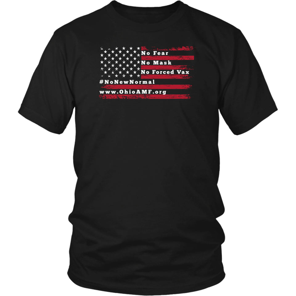 OAMF - American Flag No Fear Unisex Tee