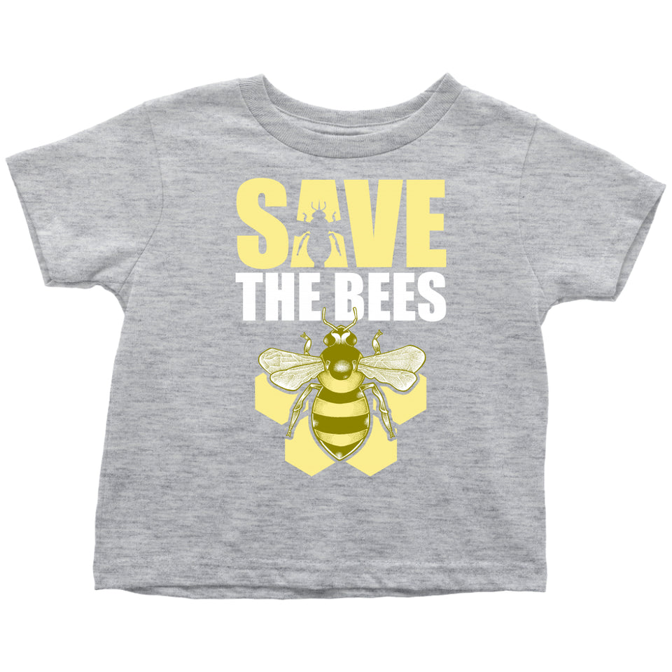 Save the Bees (Honeycomb) - Toddler Tee