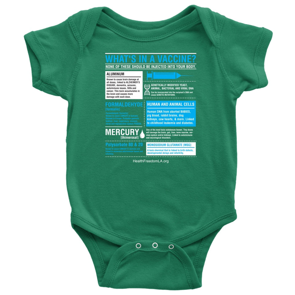 HFLA - What's in a Vaccine - Onesie