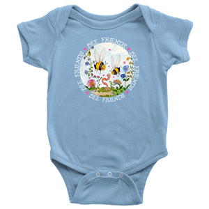 Bee Friends - Baby Onesie