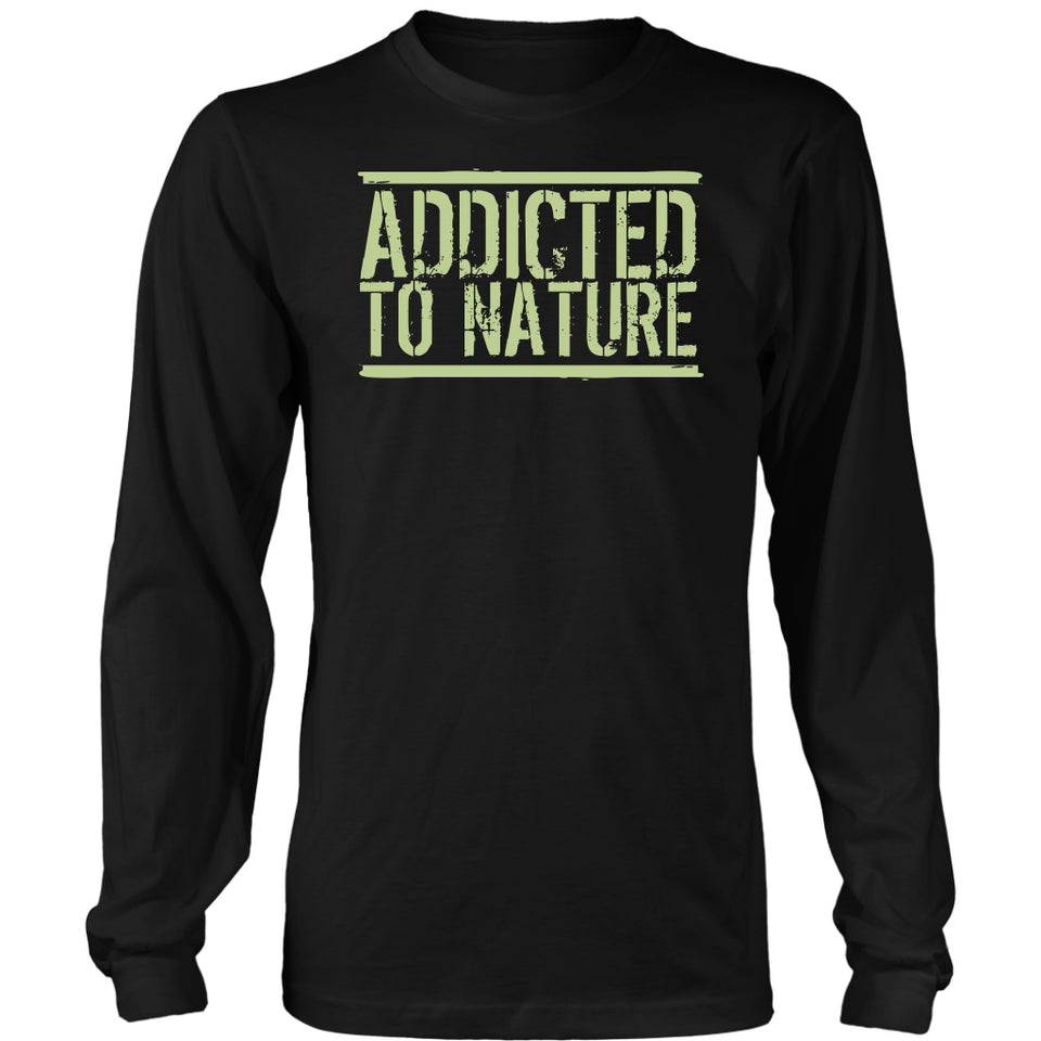 Addicted to Nature - Long Sleeve Tee