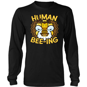 Human Bee-ing - Long Sleeve Tee